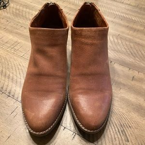 Lucky Brand Fai Brindle Antik leather booties